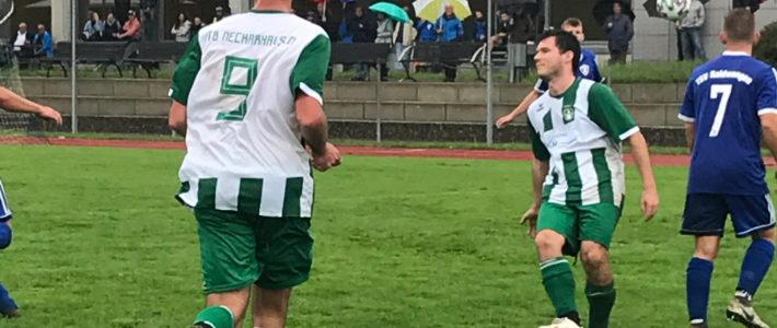 Ein verregneter Saisonauftrakt, passend zum Ergebnis von 4:1 für den TSV Raidwangen