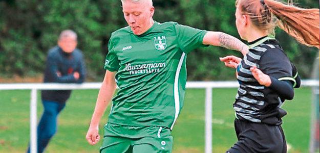 Tatjana Wind sichert ersten Dreier der aktiven Fußballerinnen