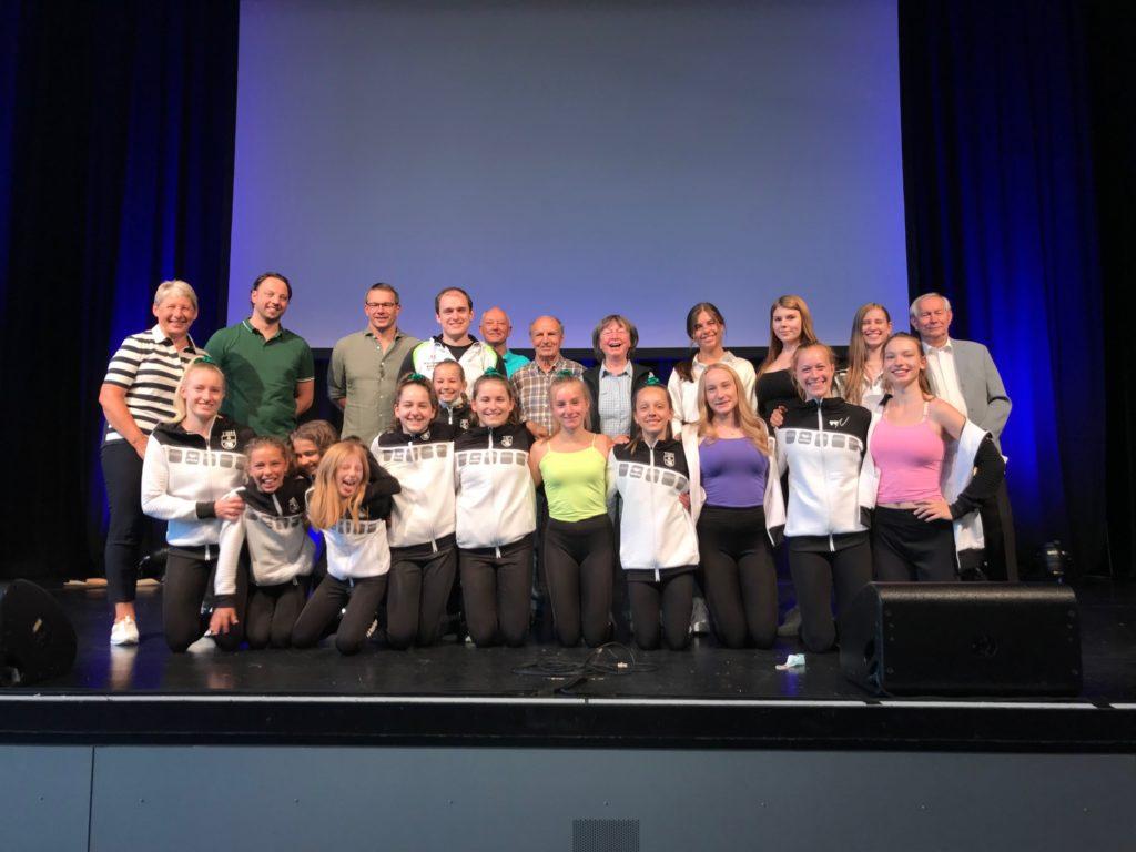 TBN Sportler und Ehrenämtler von OB Fridrich geehrt