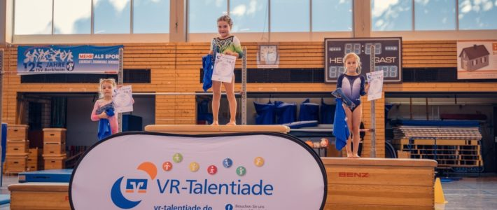 VR-Talentiade: Sieg für TBN-Turnerin