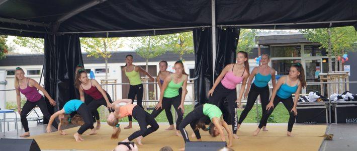 Ligaturnerinnen begeistern mit Tanzakrobatik-Auftritt in Esslingen